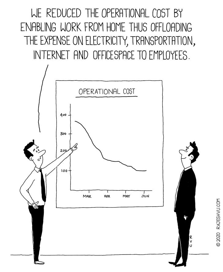 Operation Cost Reduction | Cartoons - RAJESHVU.COM