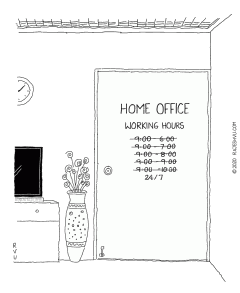 Working Hours Of Home Office